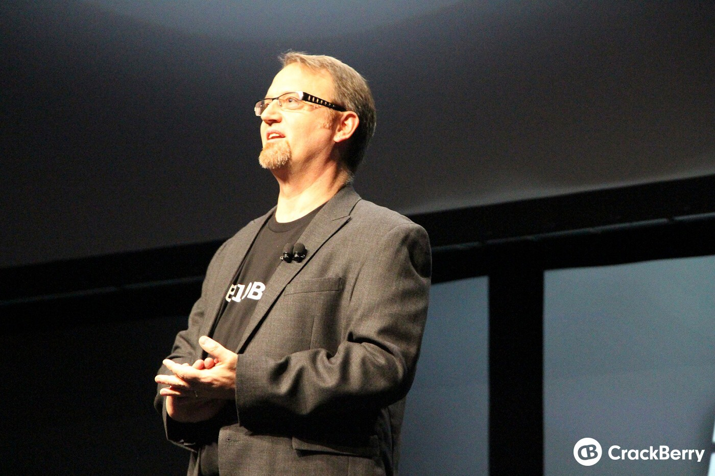Alec Saunders, VP of Developer Relations at BlackBerry!