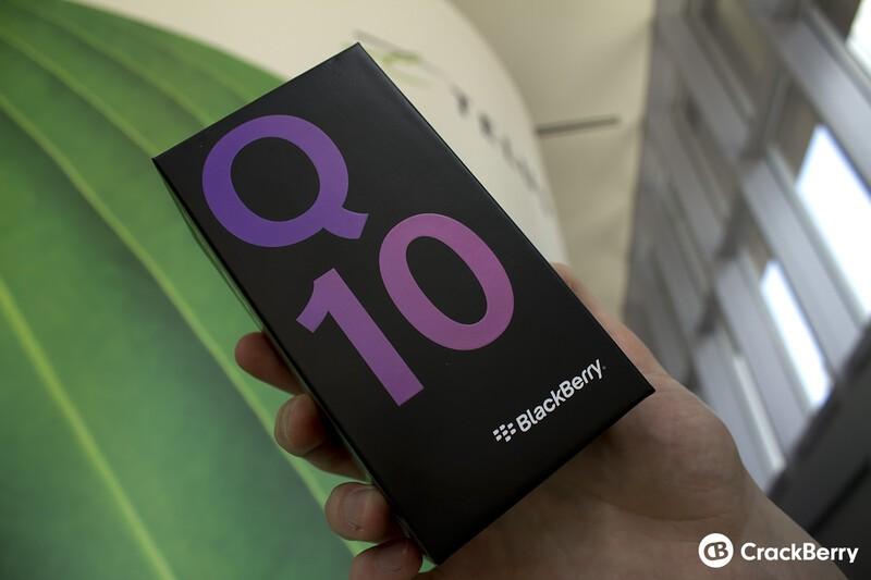 Telus BlackBerry Q10