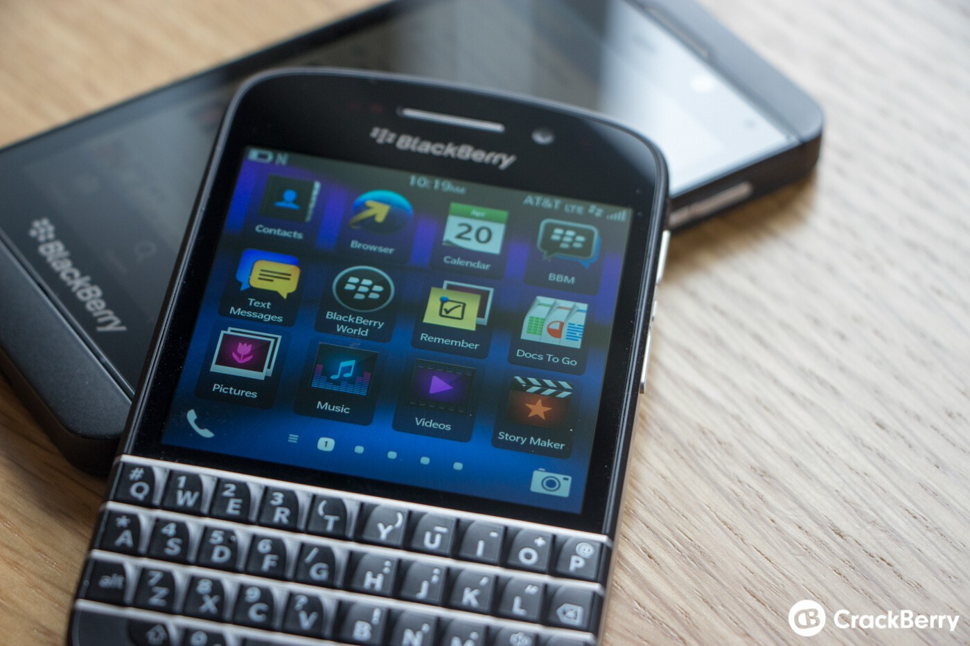 BlackBerry Q10 and BlackBerry Z10
