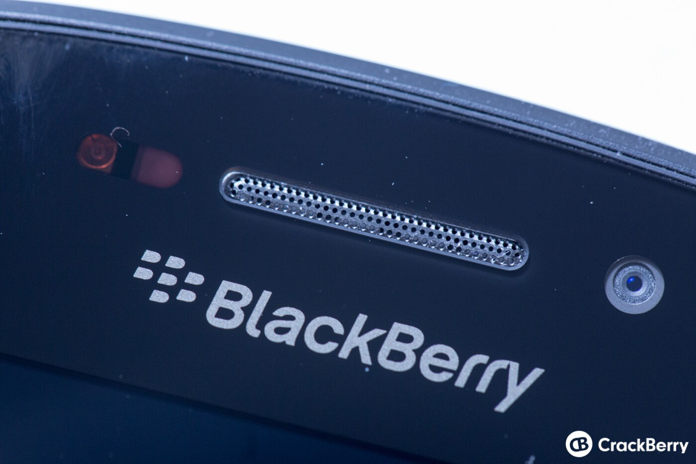 BlackBerry Q10 Front Logo