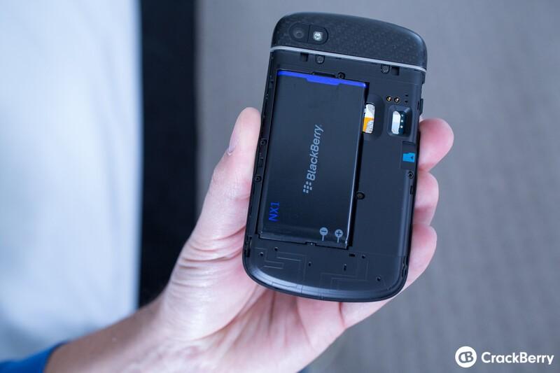 BlackBerry Q10 battery