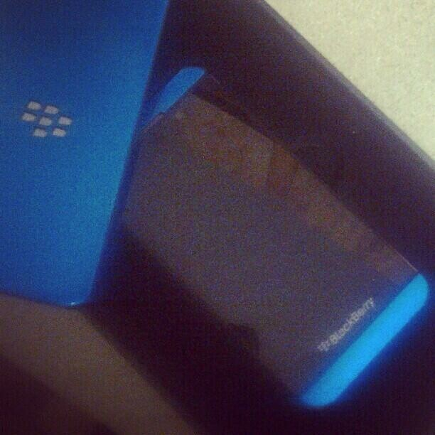 Blue BlackBerry Z10