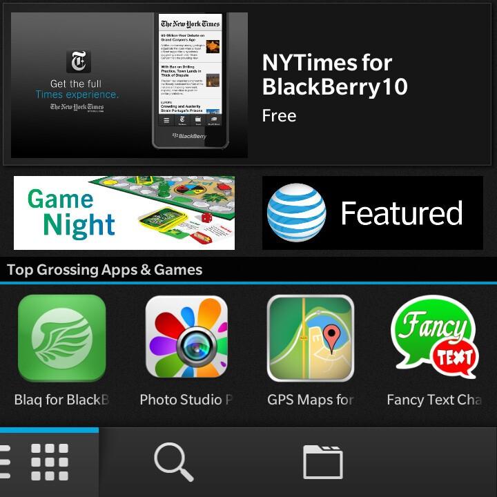 BlackBerry World on the Q10