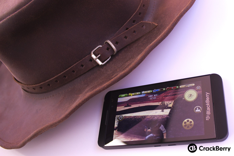 Six-Guns on BlackBerry 10