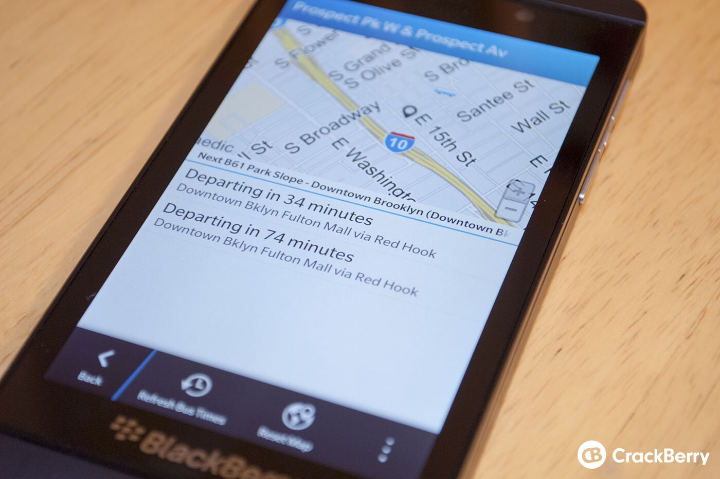 Where's My Bus? for BlackBerry 10