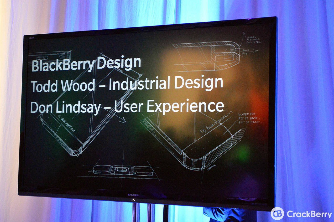 Talking BlackBerry 10 Product Design with Todd Wood and Don Lindsay