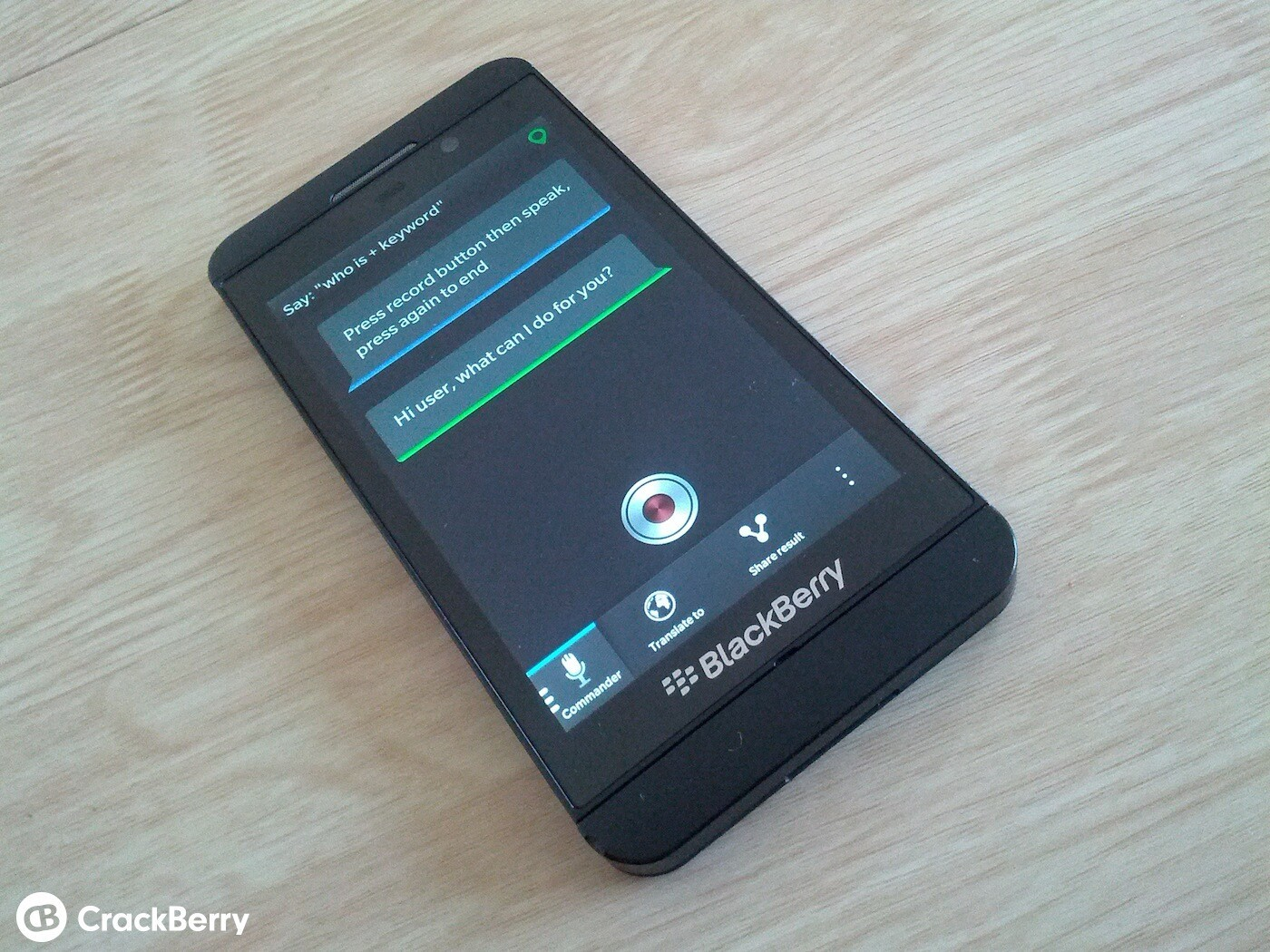 SayIt for BlackBerry 10