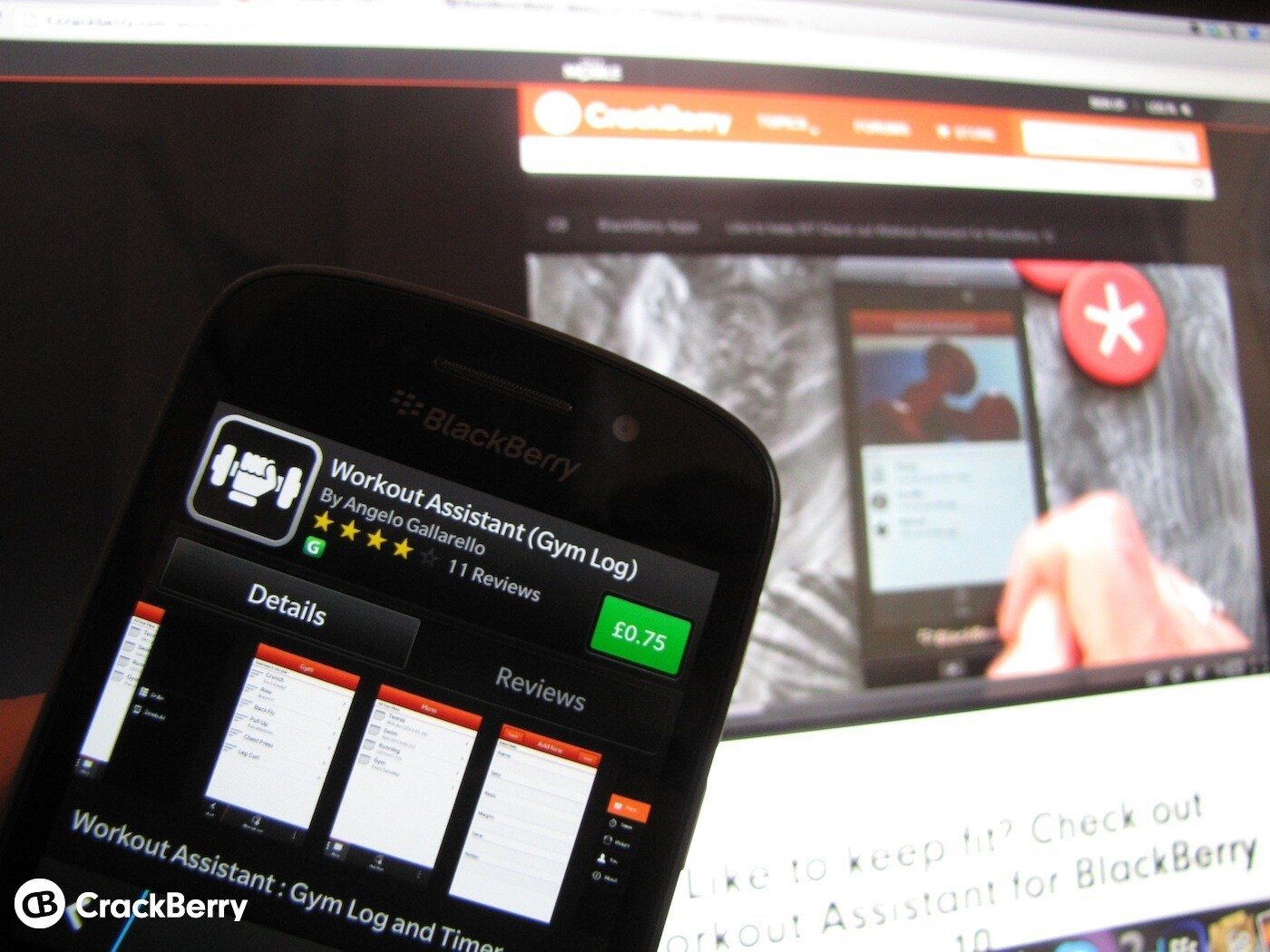Workout Assistant for BlackBerry 10