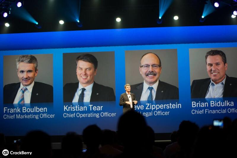 BlackBerry Management Team