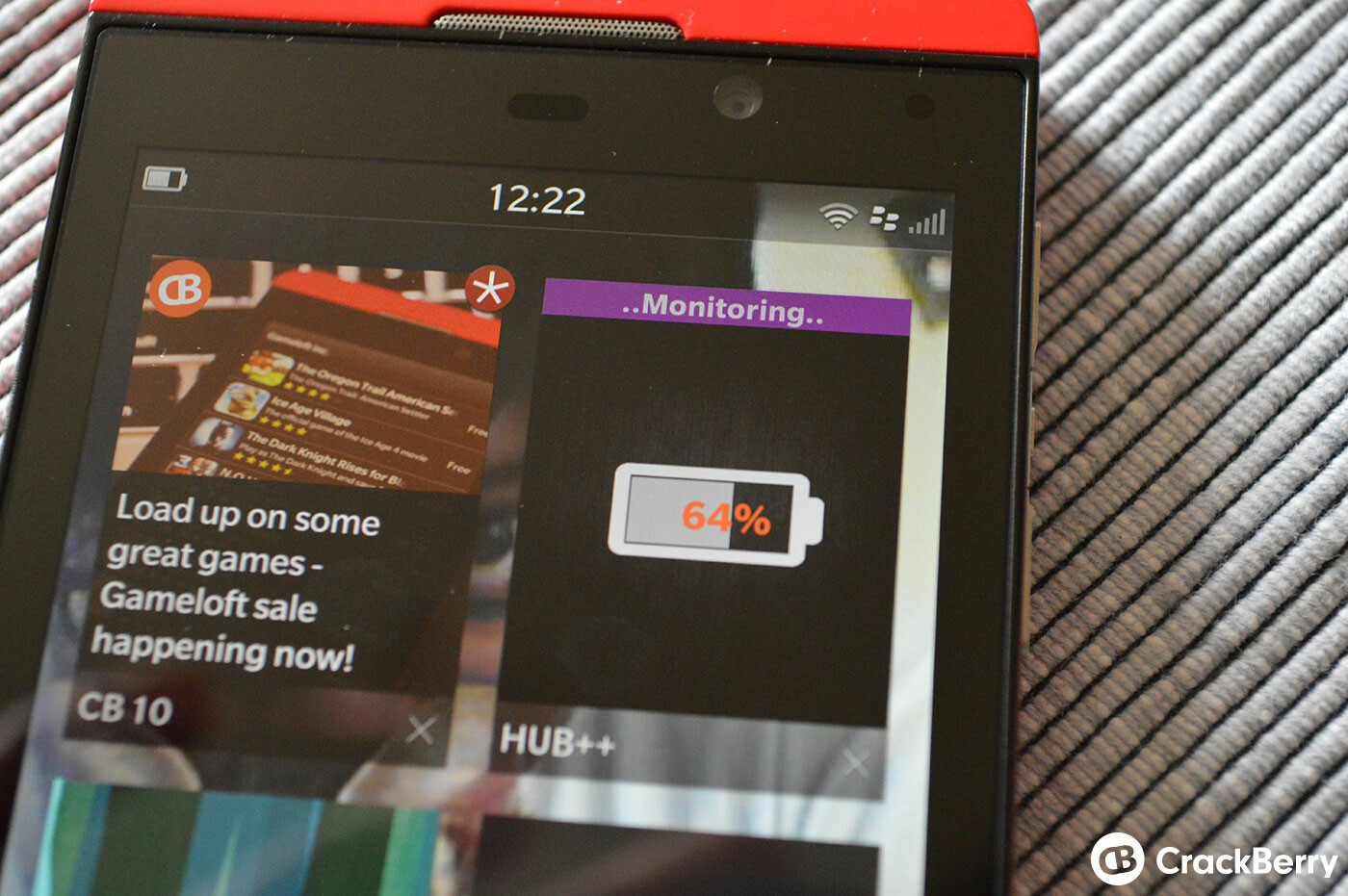 Hub++ for BlackBerry 10 updated with a handful of new features