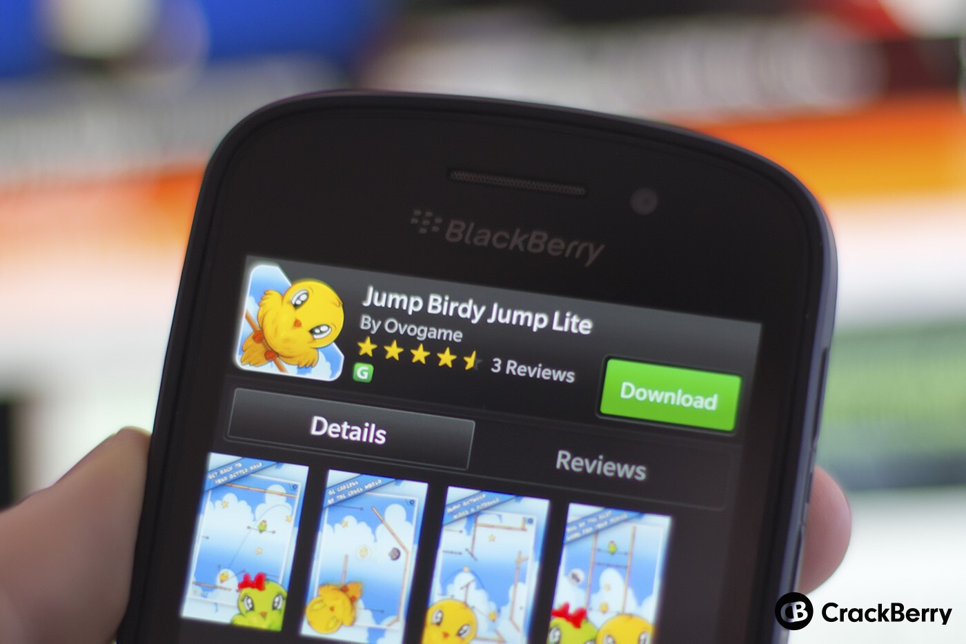 Jump Birdy for BB10