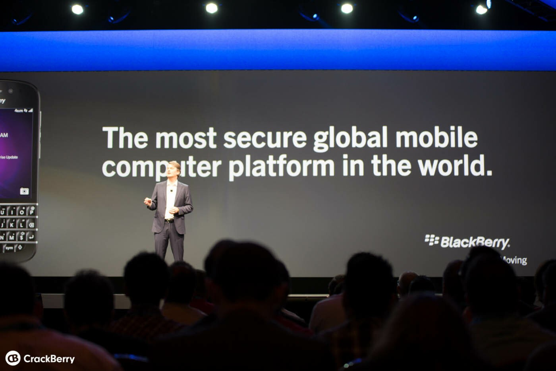 BlackBerry. Secure.