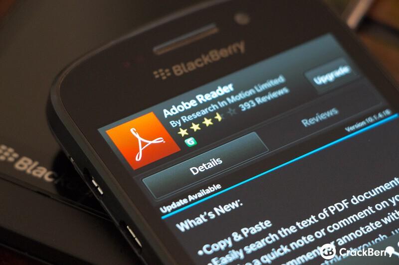 updating blackberry to new ver