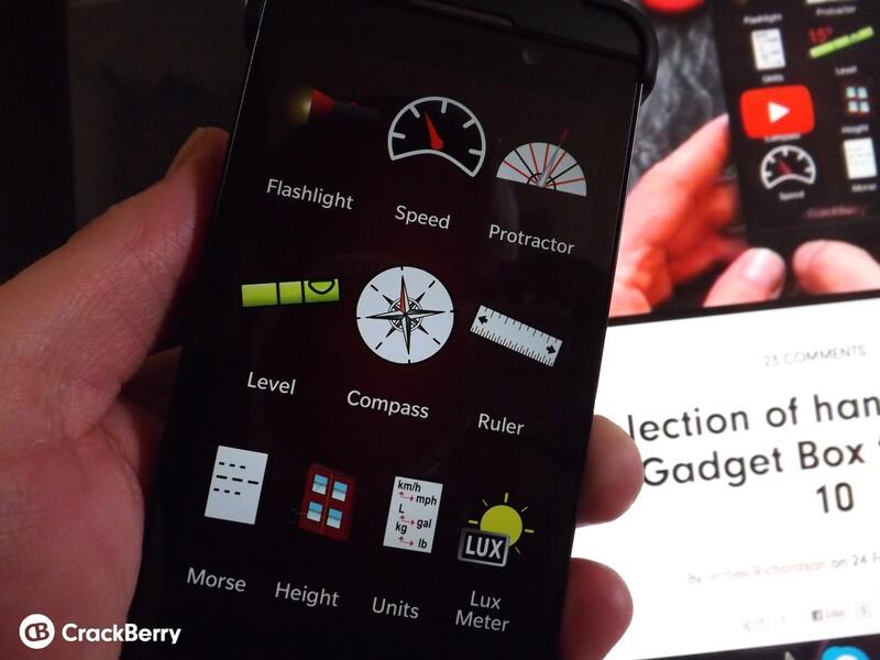 Gadget Box for BlackBerry 10