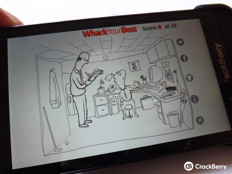 Whack Your Boss for BlackBerry 10