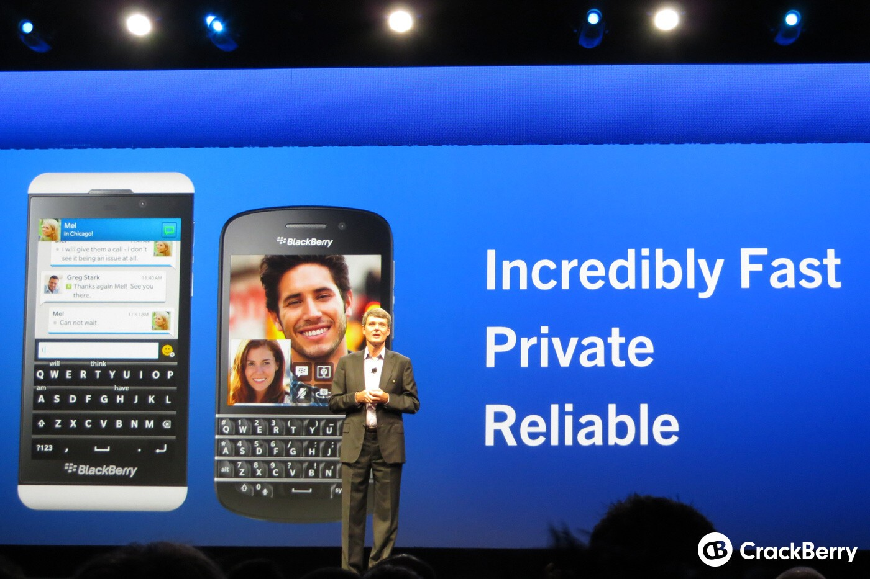 BBM at BlackBerry Live 2013