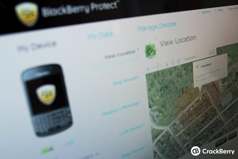 Locate My Stolen BlackBerry