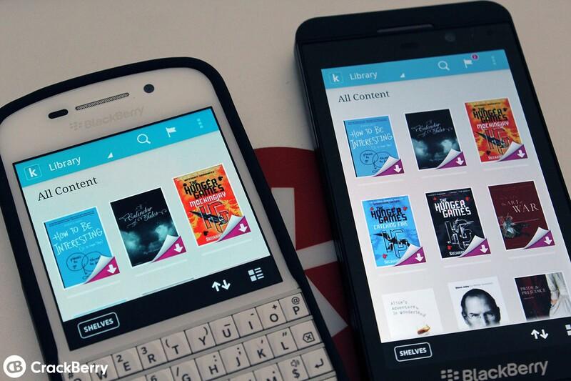 Kobo for BlackBerry 10 now available