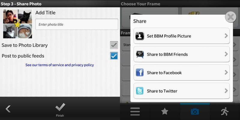 PicMix Saving and Social Sharing