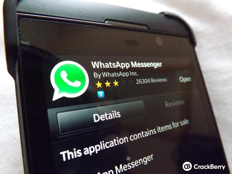 Whatsapp for BlackBerry 10