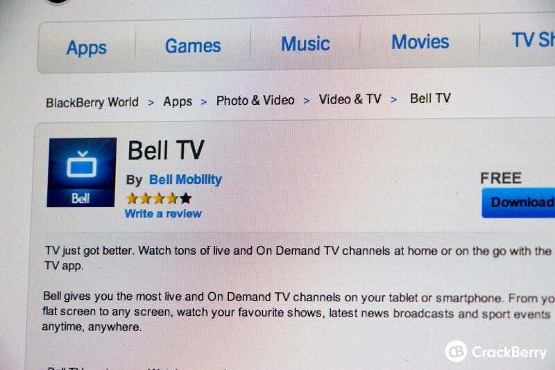 Bell TV app comes to BlackBerry 10 | CrackBerry com