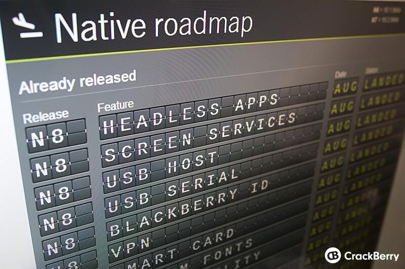BlackBerry development flight board