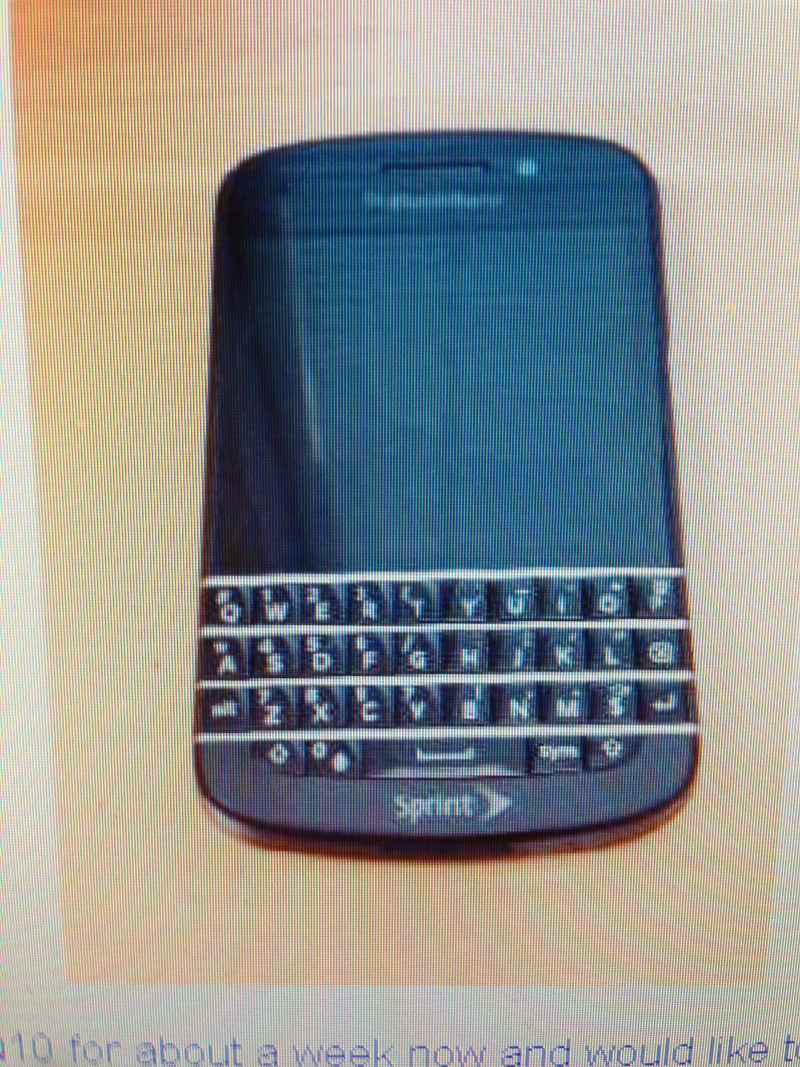 Sprint BlackBerry Q10