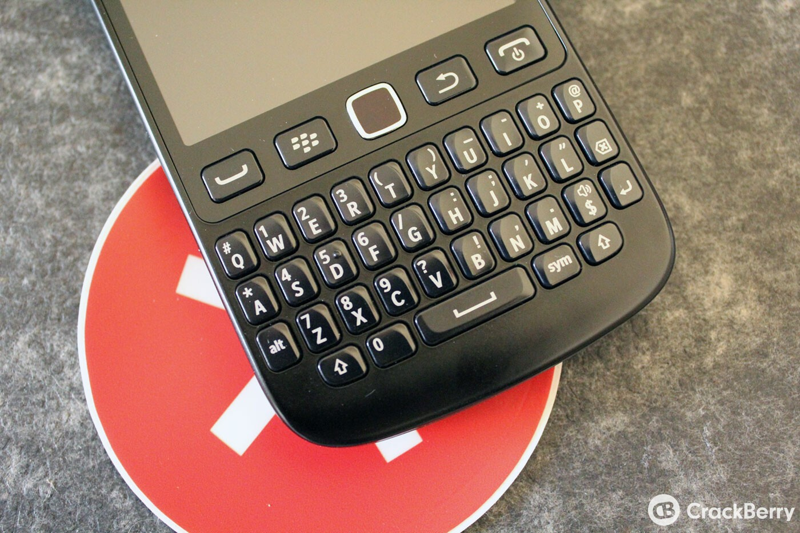 BlackBerry 9720 Keyboard