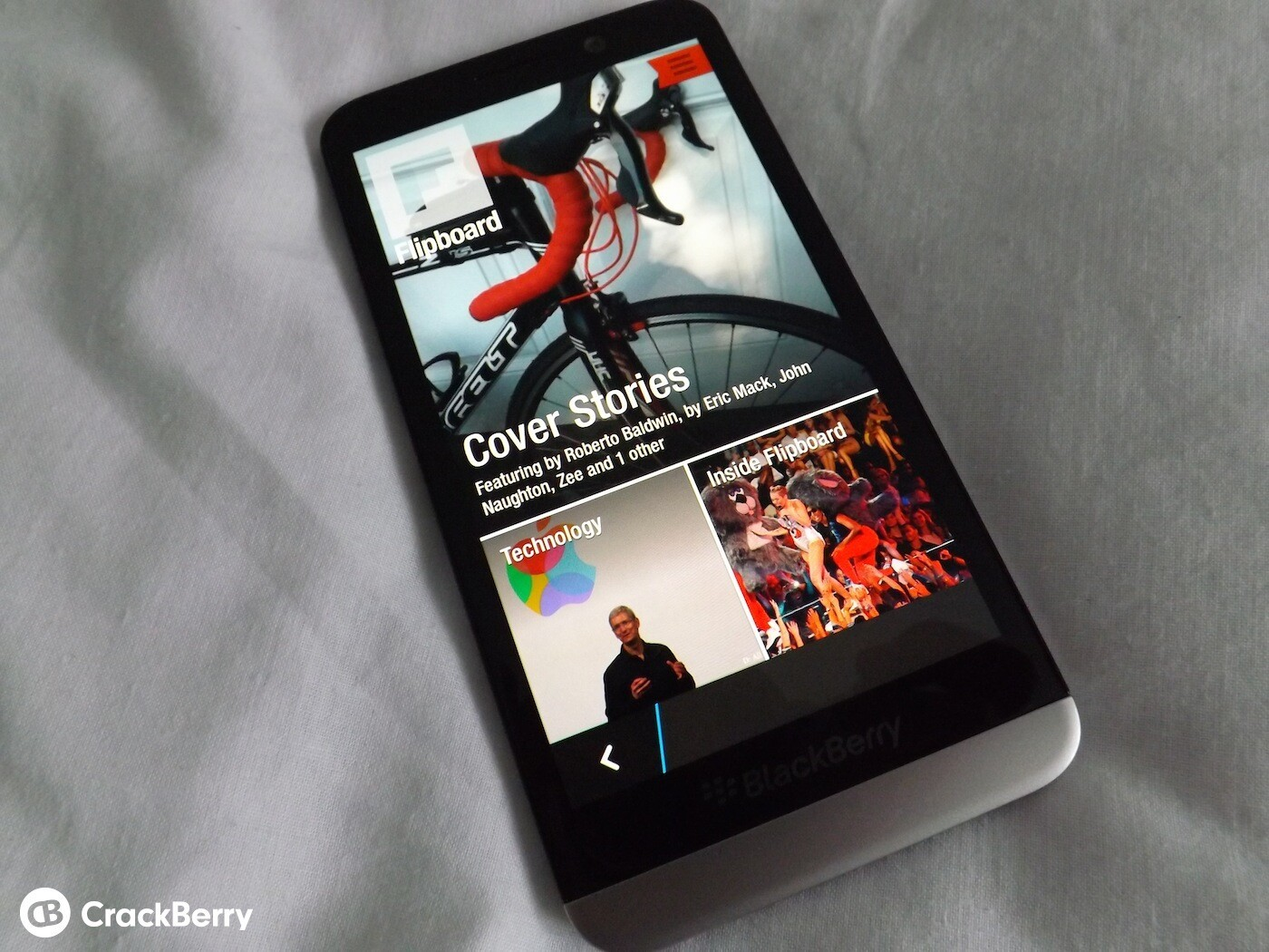 Hands on with the Flipboard application for BlackBerry 10