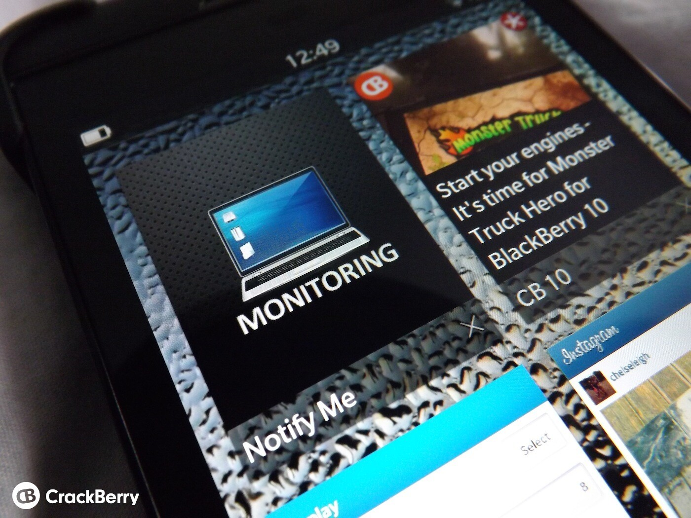 Notify Me for BlackBerry 10