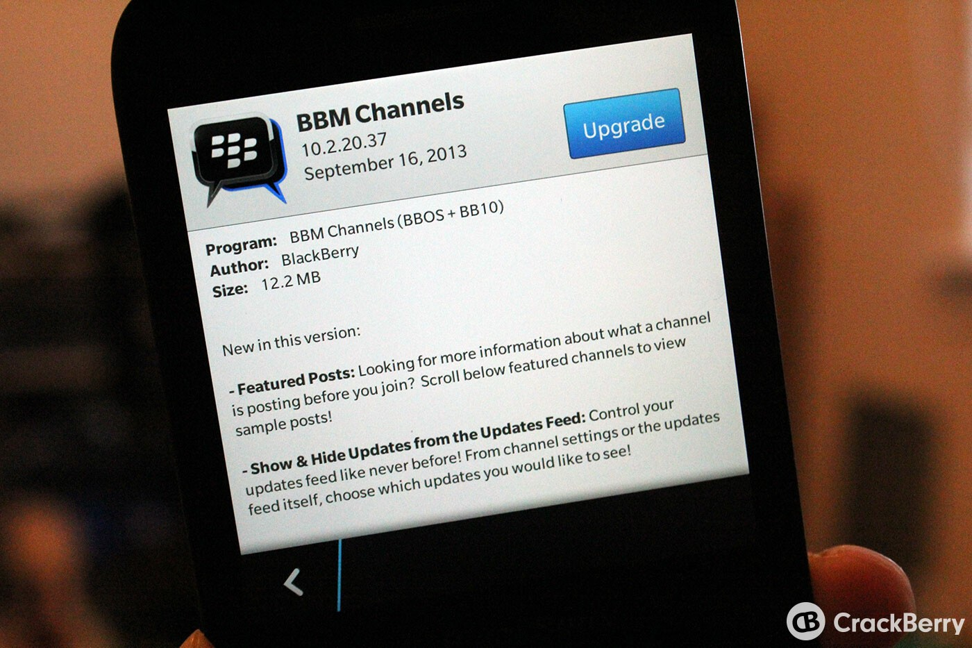 BBM Channels gets another update to v10.2.20.37 in BlackBerry Beta Zone