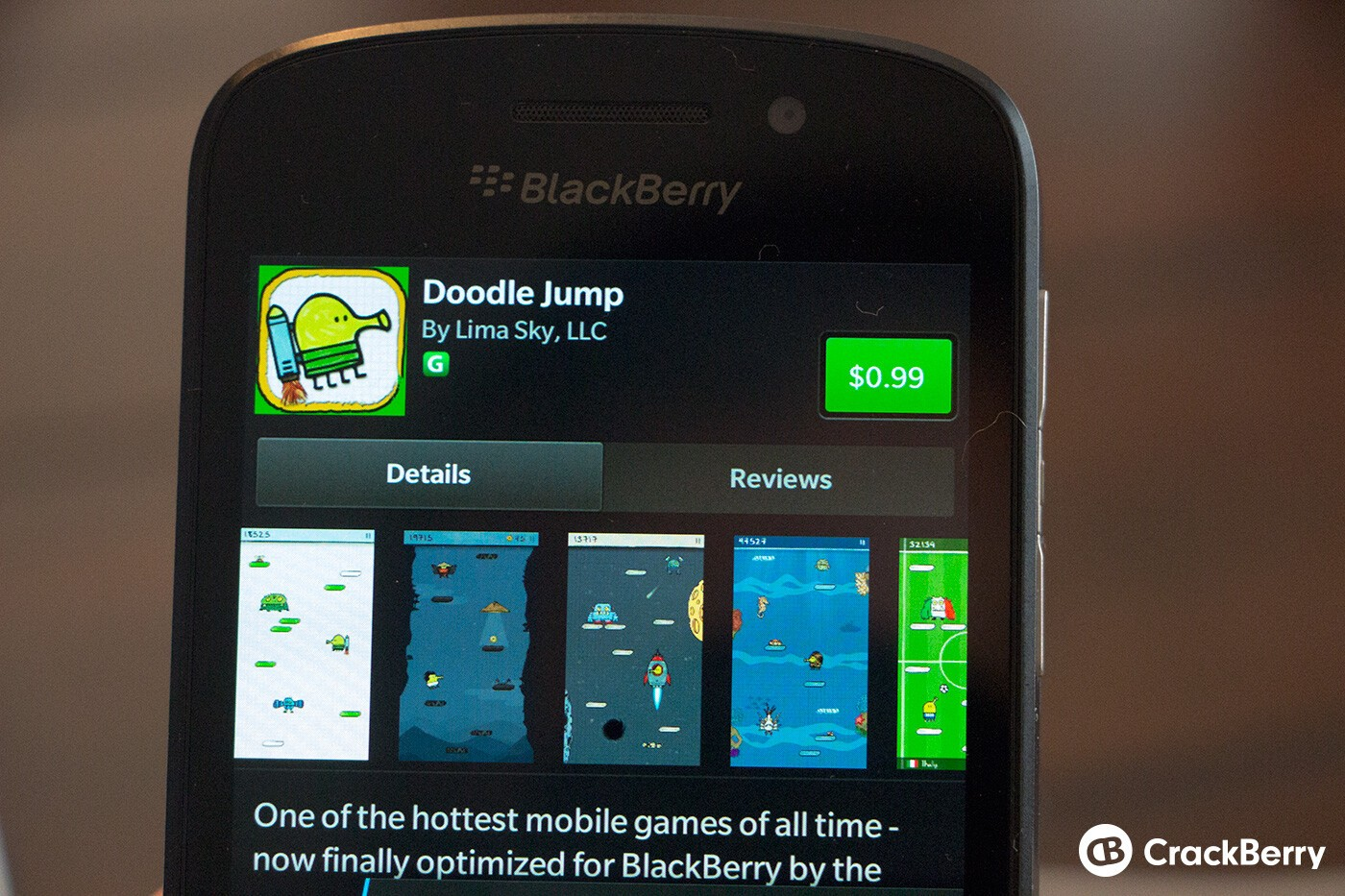 Doodle Jump Now Available For Blackberry 10 Crackberrycom