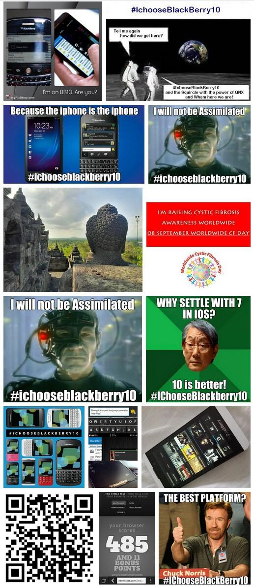 I Choose BlackBerry 10