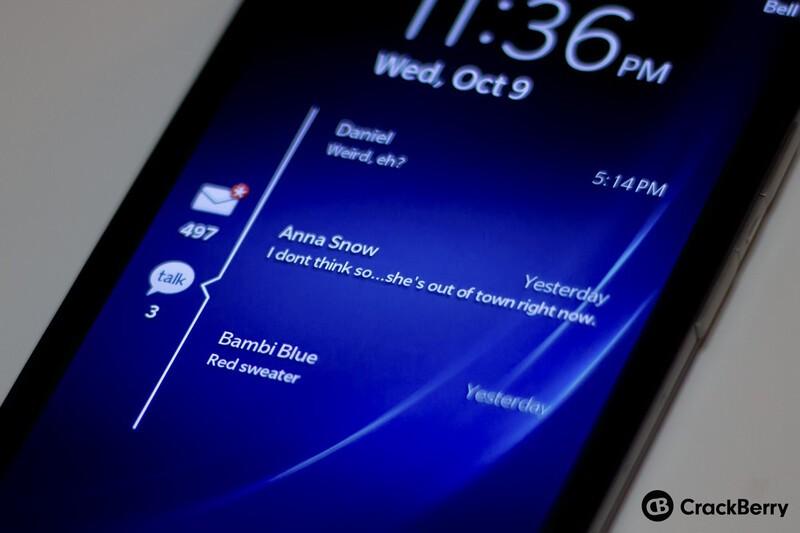 BlackBerry 10.2 previews