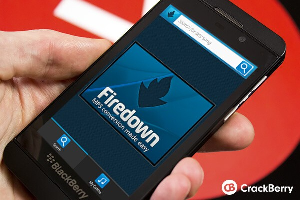 Firedown lets you catch MP3s for listening on the go, even