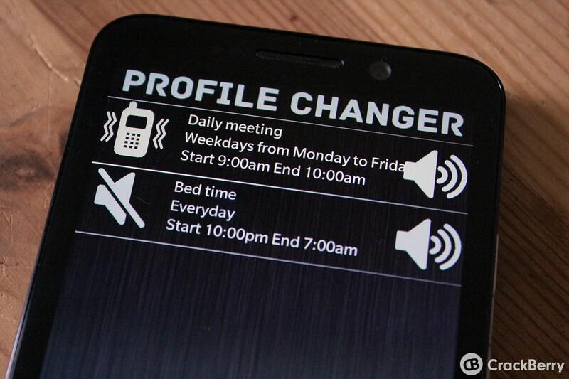 Profile Changer Pro for BlackBerry 10 goes headless