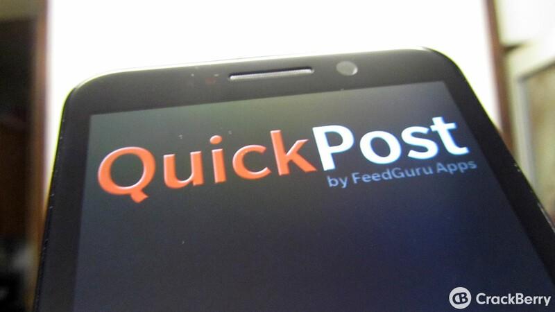 Social sharing app QuickPost gets an update