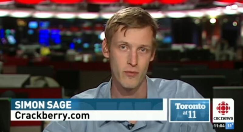 Simon Sage at CBC