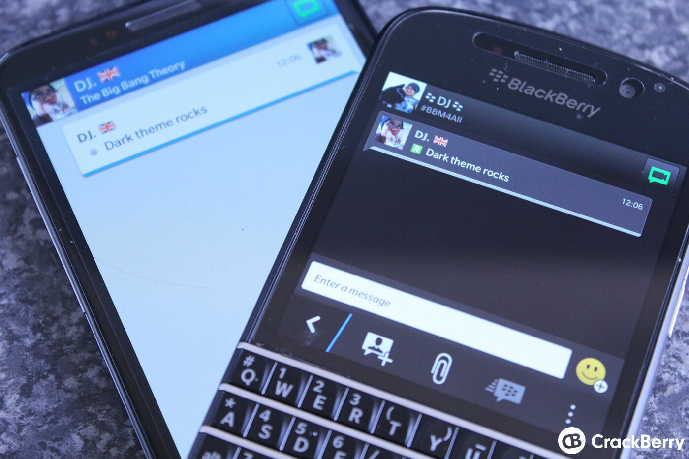 How to change visual theme on BlackBerry OS 10.2