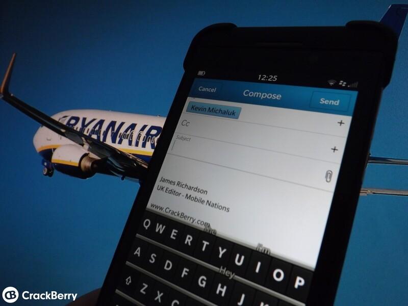 BlackBerry Plane