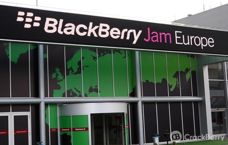 BlackBerry not hosting BlackBerry Jam Europe event in 2014