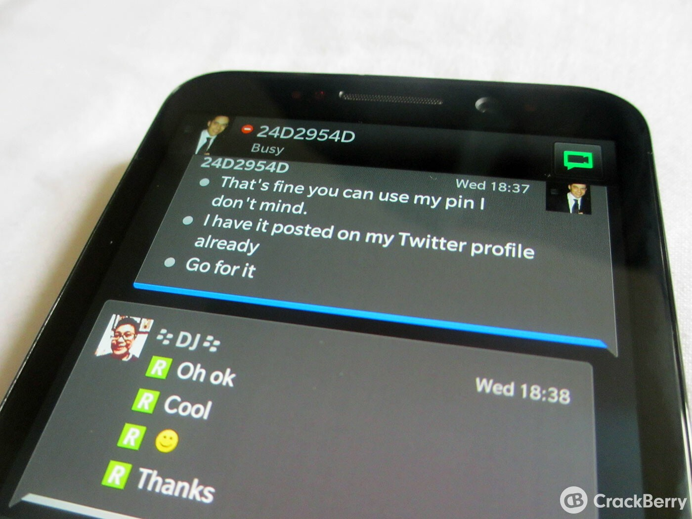 BBM contacts showing up as PINs? Here's a fix for you