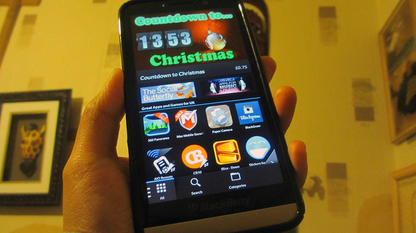 Get a free download daily during 25 Days of Gifts from BlackBerry World
