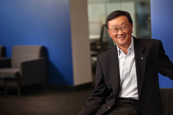John Chen discusses the Priv by BlackBerry announcement and company earnings