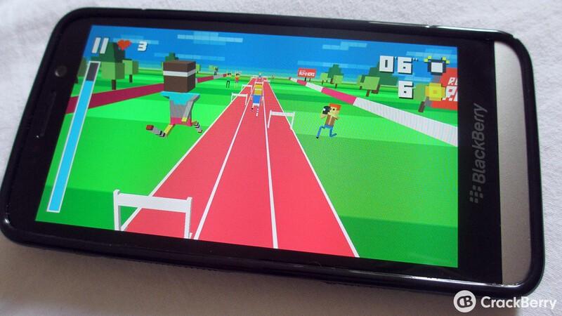 8-bit game Retro Runners now free in BlackBerry World