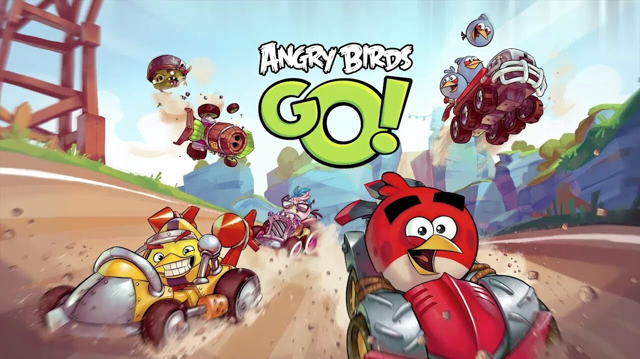 Angry Birds Go now available for select BlackBerry 10 smartphones ...