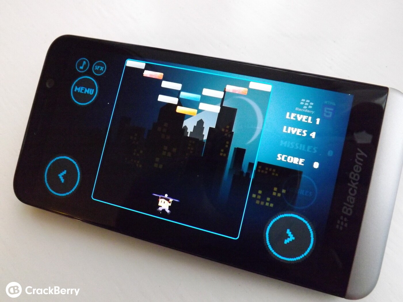 Hands on with Brick Breaker for BlackBerry 10 and its different controls