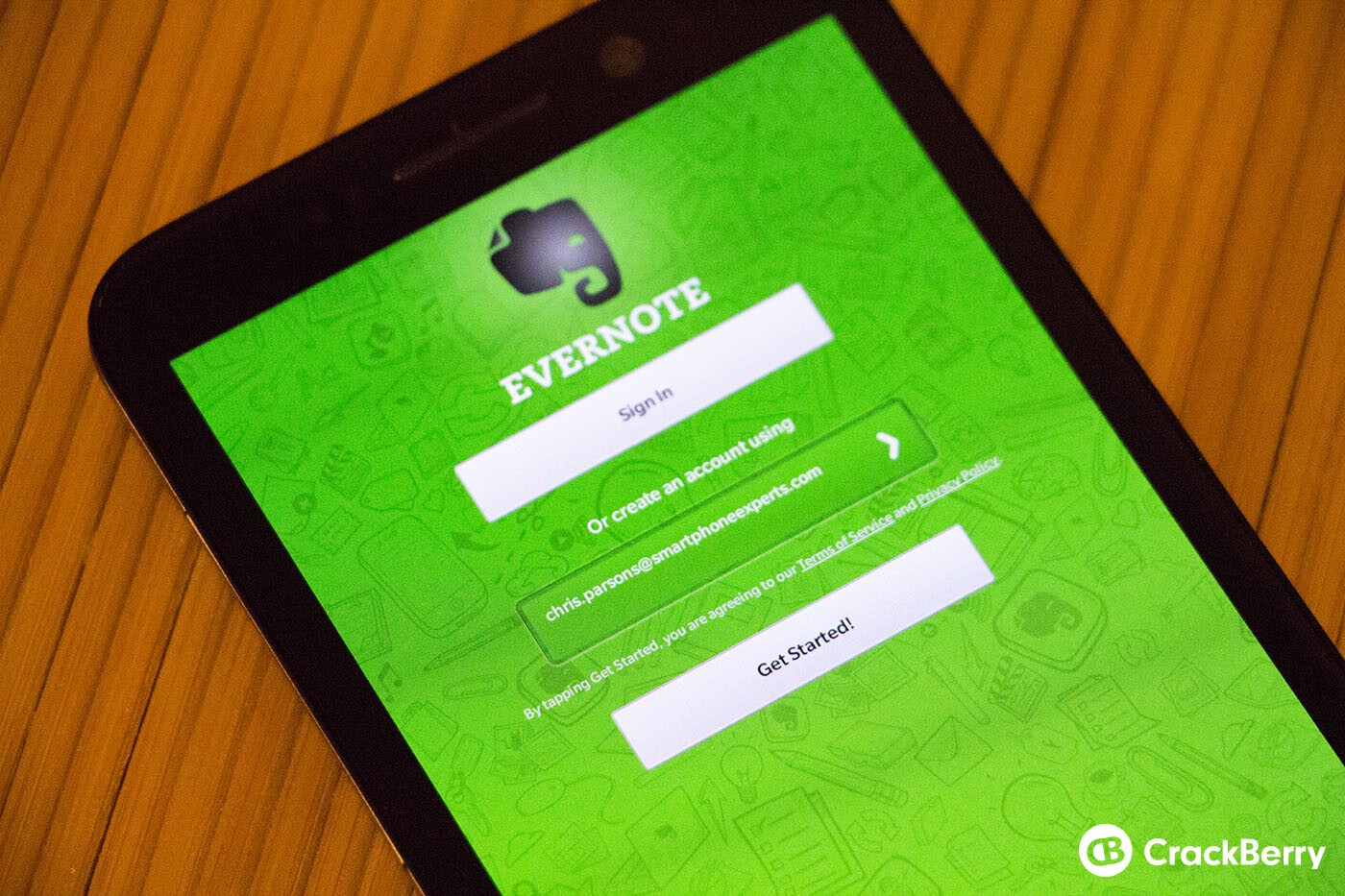 Evernote updated in BlackBerry Beta Zone - you can now see notebooks shared with you