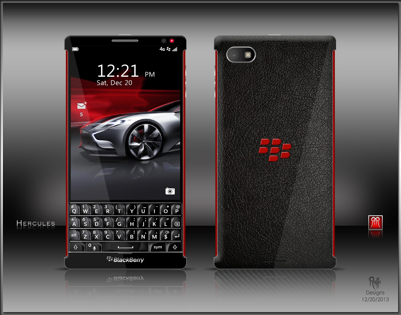 BlackBerry 'Hercules' concepts bundle phone, watch and ...