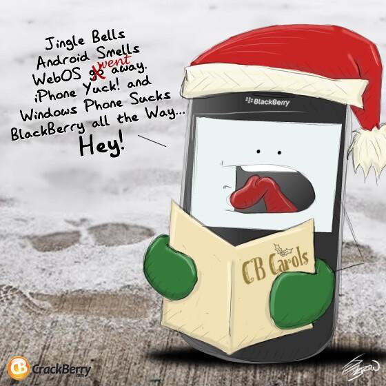 A CrackBerry Christmas Carol!